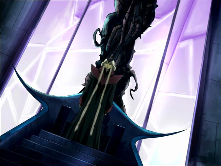 phobos on his dark swirling throne of lies