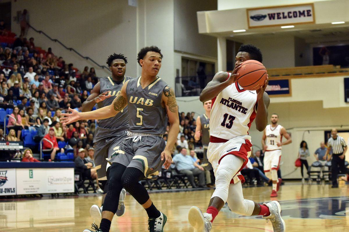 NCAA Basketball: UAB at Florida Atlantic