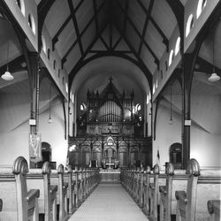 Interior of the Green Stone Church in Pullman. |Sun-Times Archives.