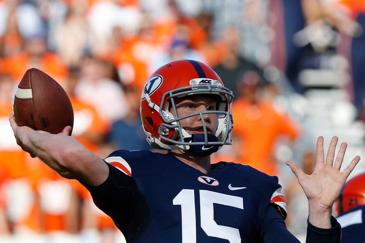 Matt Johns is ready to lead the Hoos' offense this year.