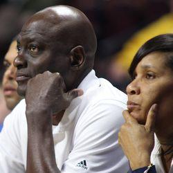 Atlanta Dream head coach Michael Cooper.