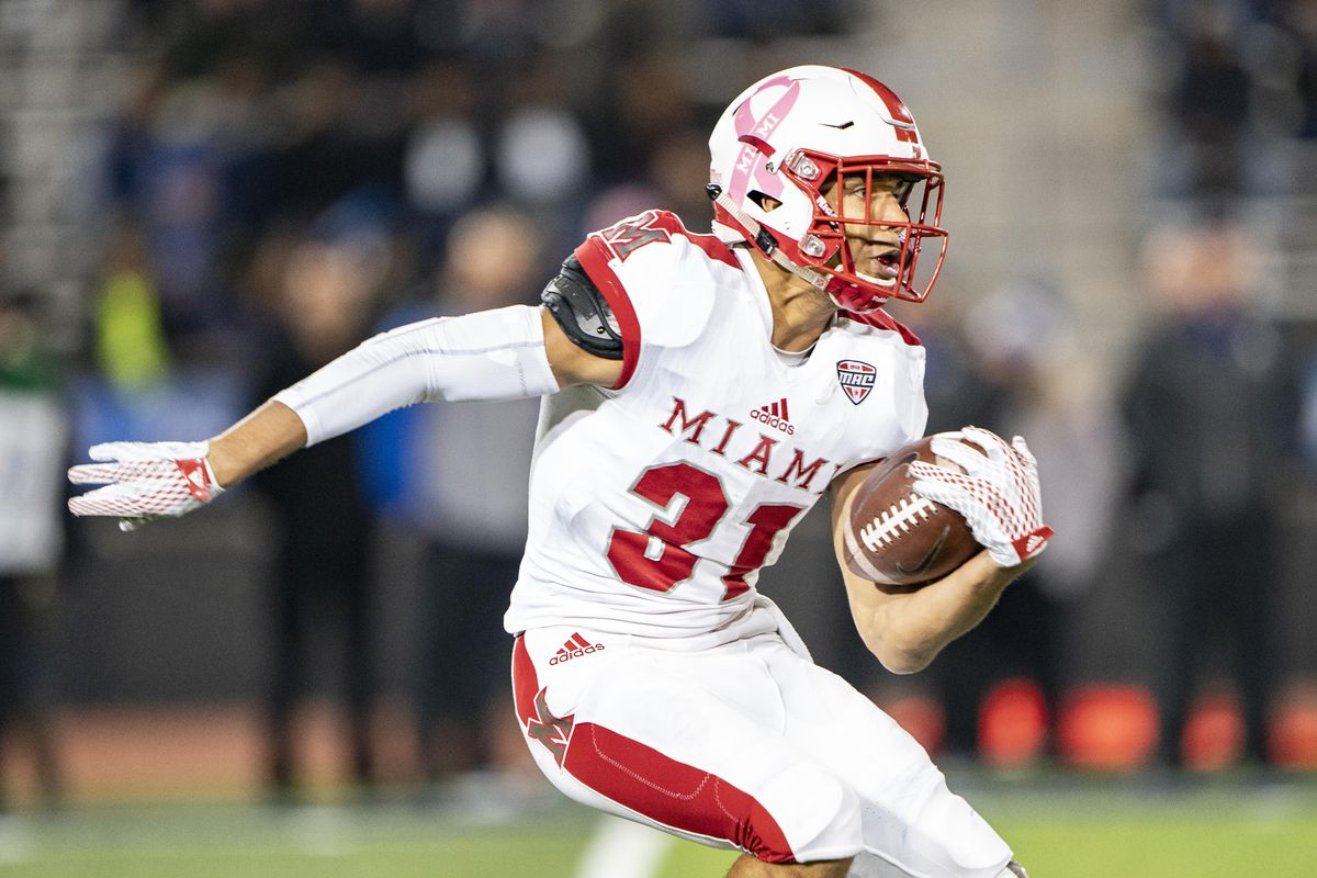 COLLEGE FOOTBALL: OCT 30 Miami OH at Buffalo