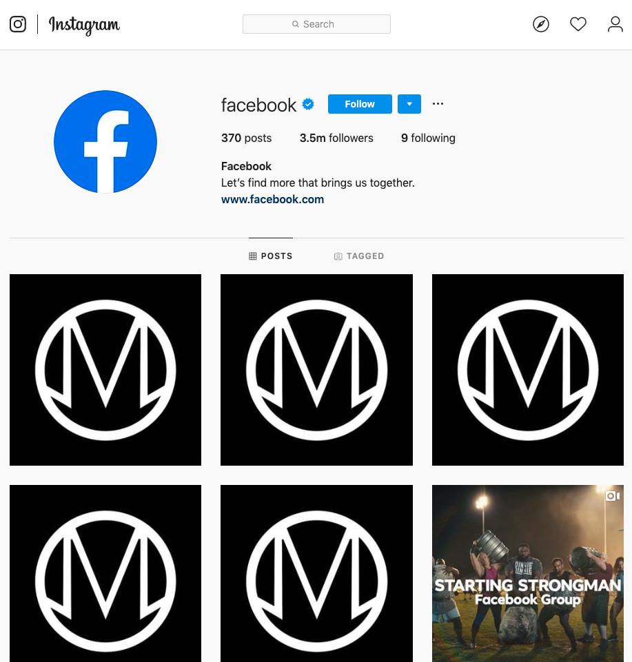 Facebook's Twitter, Instagram Handles Hacked