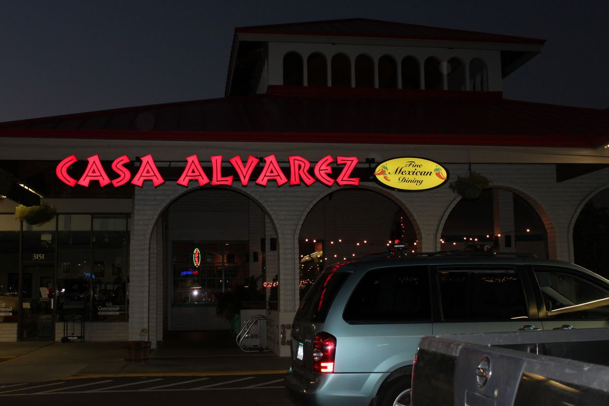 The late Casa Alvarez