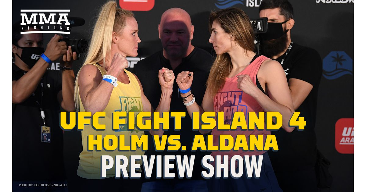 Video: UFC Fight Island 4 preview show