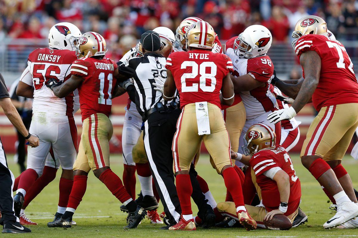 Arizona Cardinals vs San Francisco 49ers