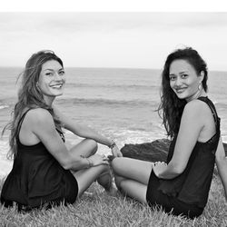 "Founders Ashley Chase and Indah Huberman; Image via <a href=""http://www.sealoveswimwear.com/"">SeaLove</a>"