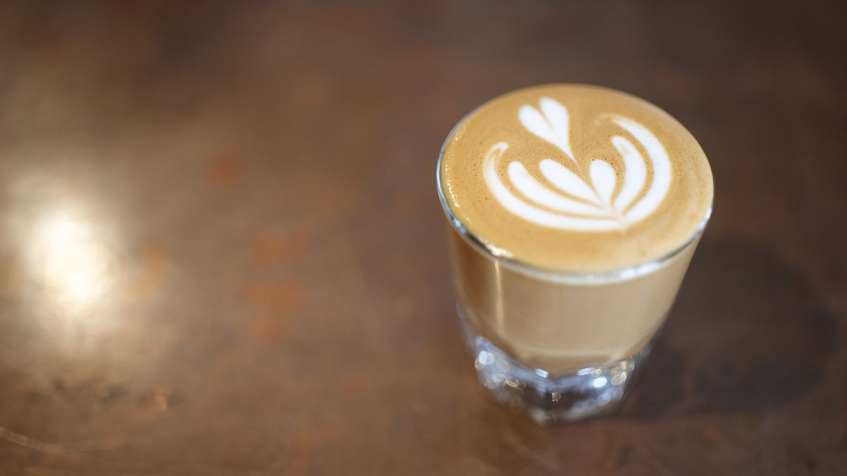 The cortado from Creature Coffee