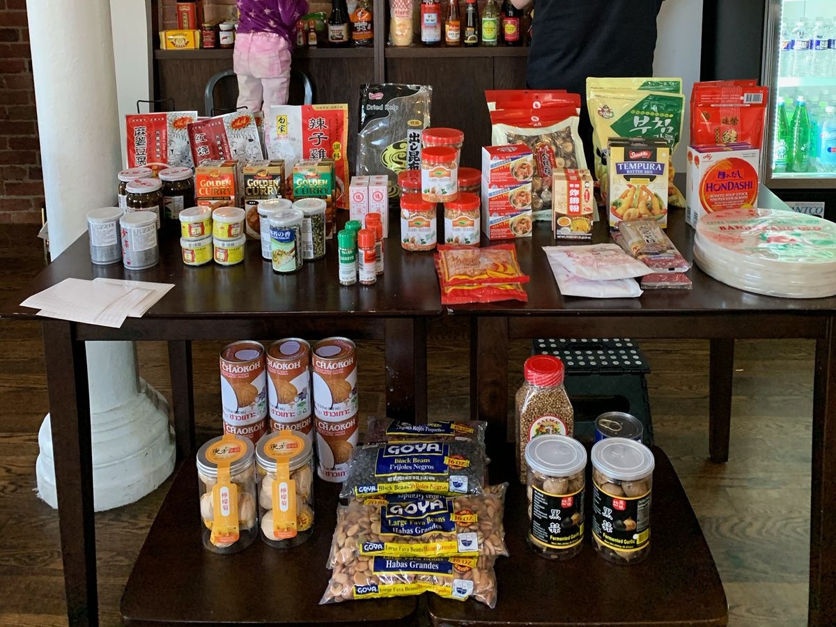 Asian groceries at Shopkeepers