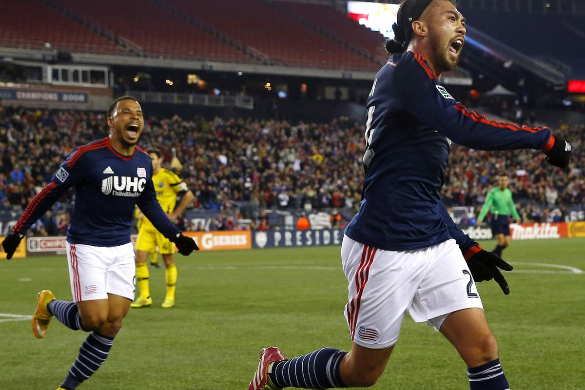 """The Red Bulls went """"Jaws"""" on a floundering Crew team in front of a strong home crowd."""