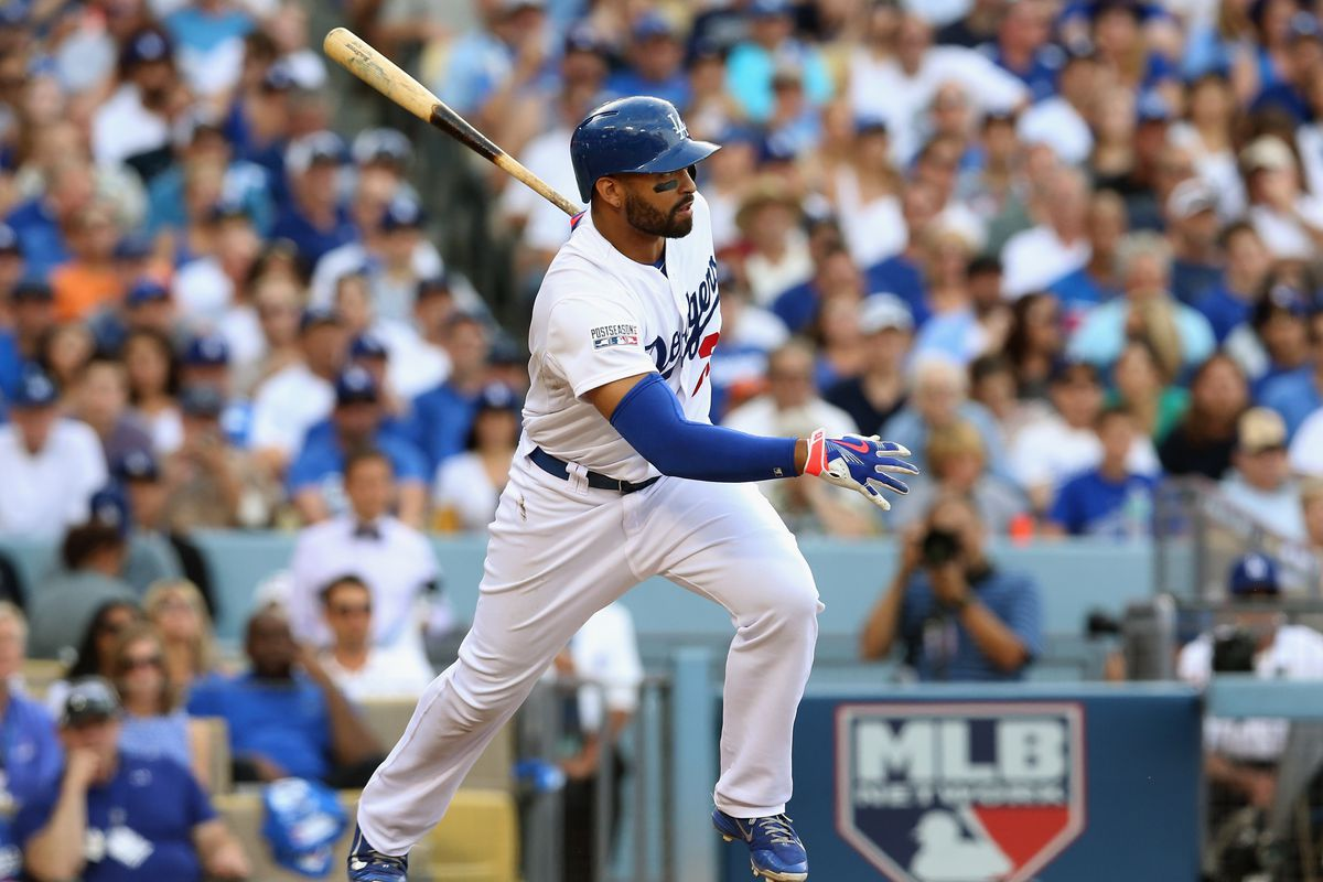 Division Series - St Louis Cardinals v Los Angeles Dodgers - Game One