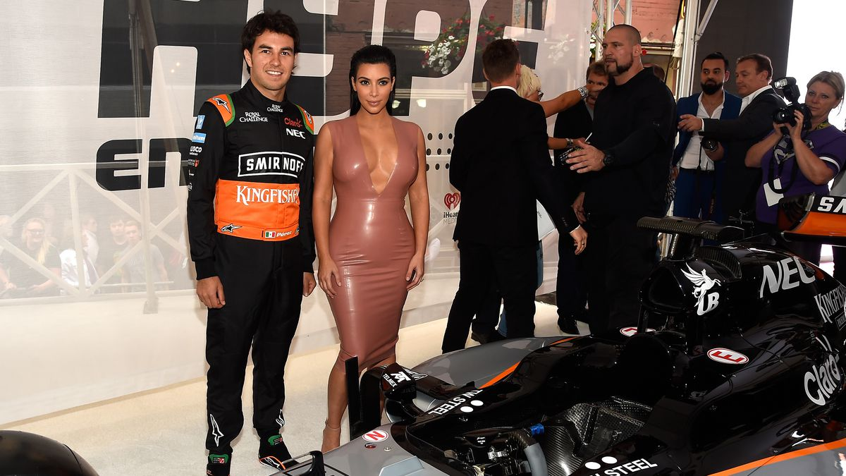 Kim Kardashian at the U.S. launch of Hype Energy Drinks. Photo: Getty Images