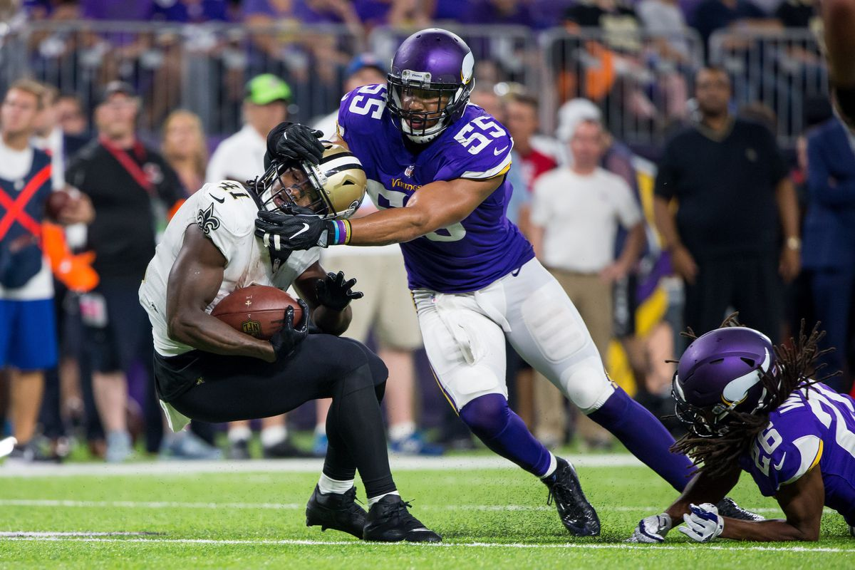 Anthony Barr already missing practices Daily Norseman