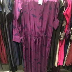 Printed maxi dress, size M, $119 (was $425)