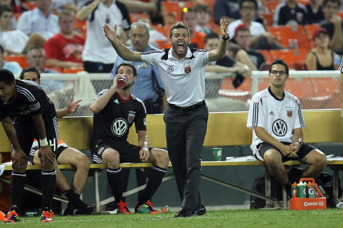 Ben Olsen was ejected from the match, but was proud of his team's performance