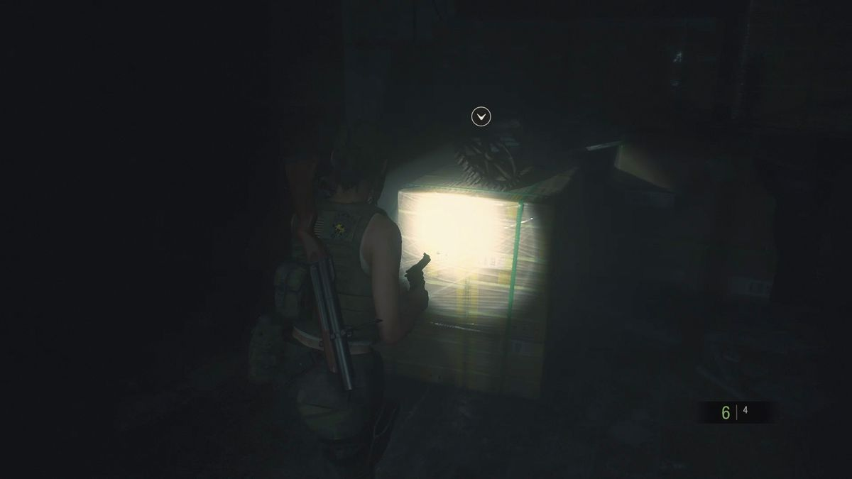 Re2 Remake Claire 2nd Find The Power Panel Parts