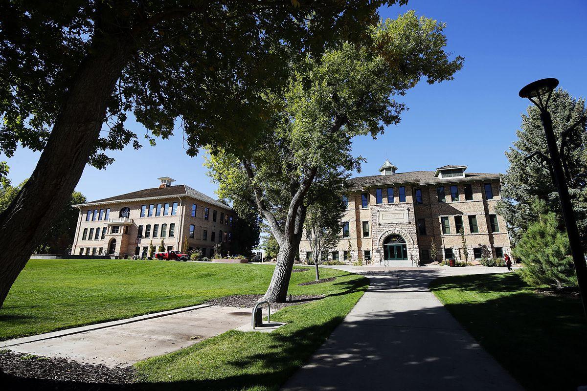 Buildings at Southern Utah University in Southern Utah University are shown on Wednesday, Oct. 21, 2020.