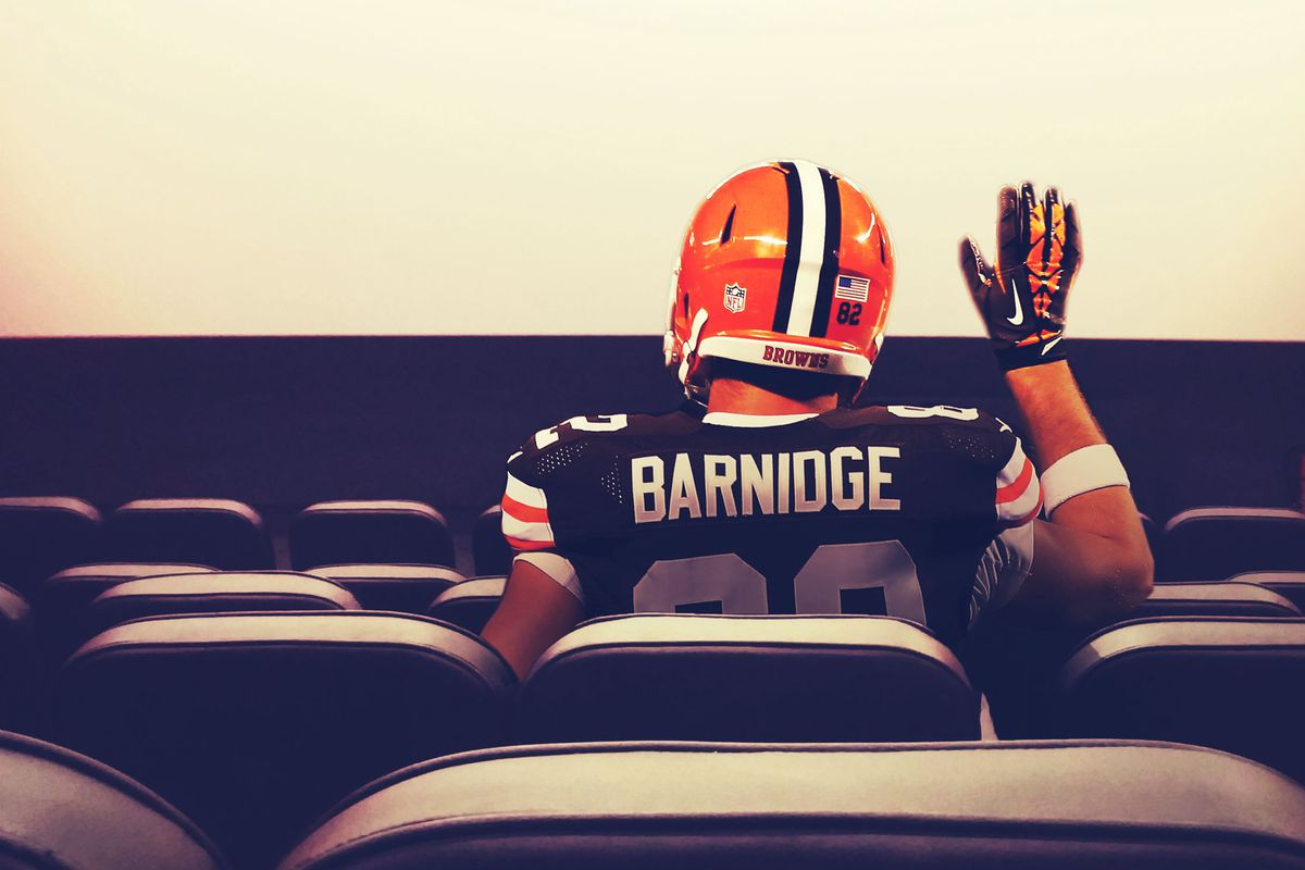 Cleveland Tight End Gary Barnidge Would Like to Take You to