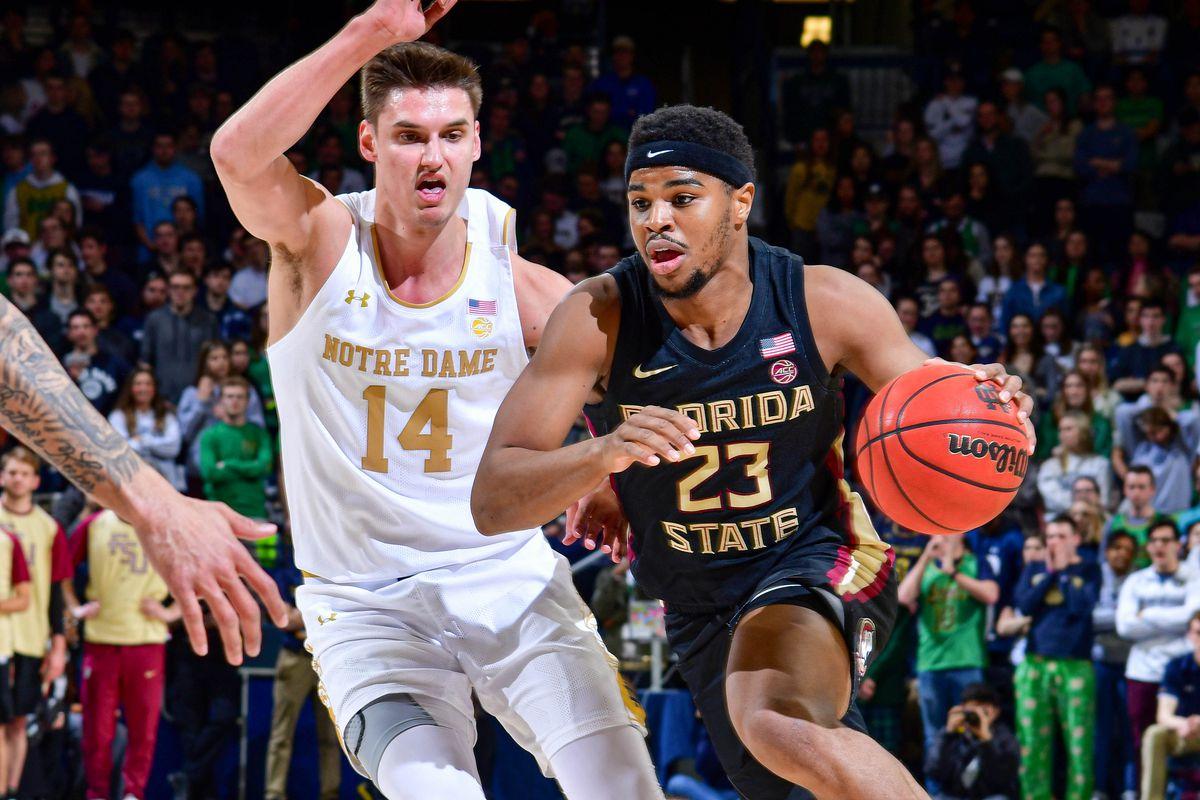 NCAA Basketball: Florida State at Notre Dame