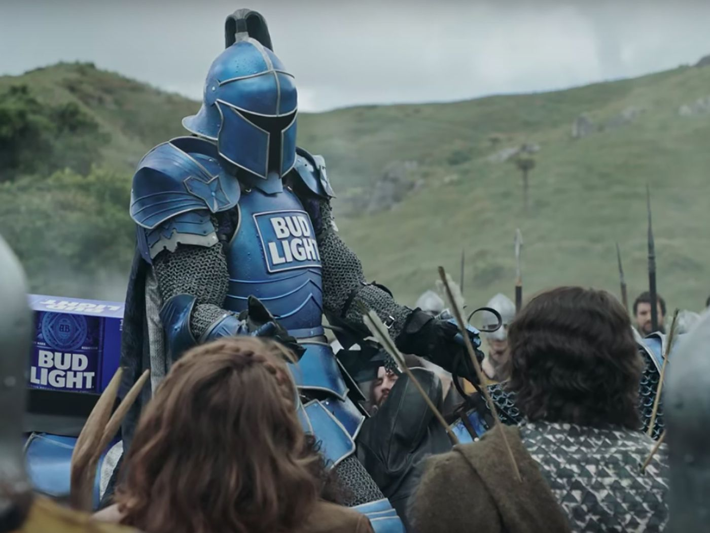 Heres bud lights dilly dilly super bowl commercial eater mozeypictures Images