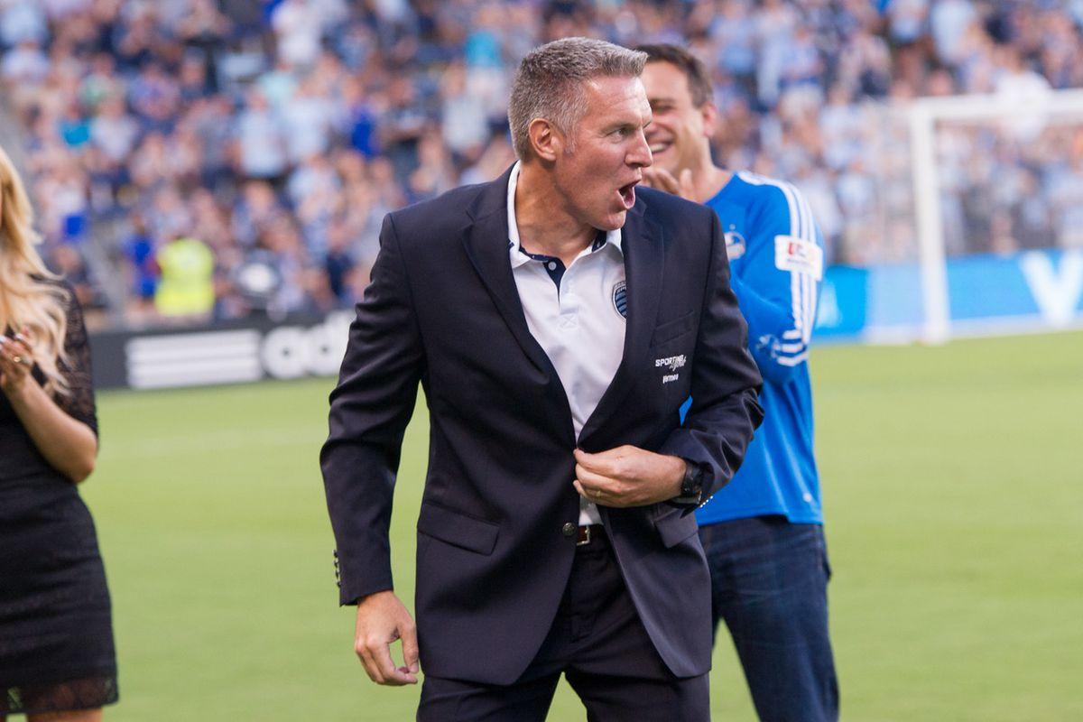 Vermes shares Sporting legend status with Bob Gansler