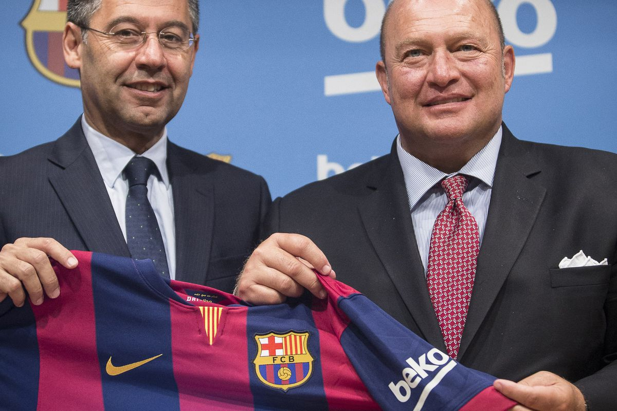 6dcf35104 FC Barcelona add Beko shirt sleeve sponsor for reasons - SBNation.com