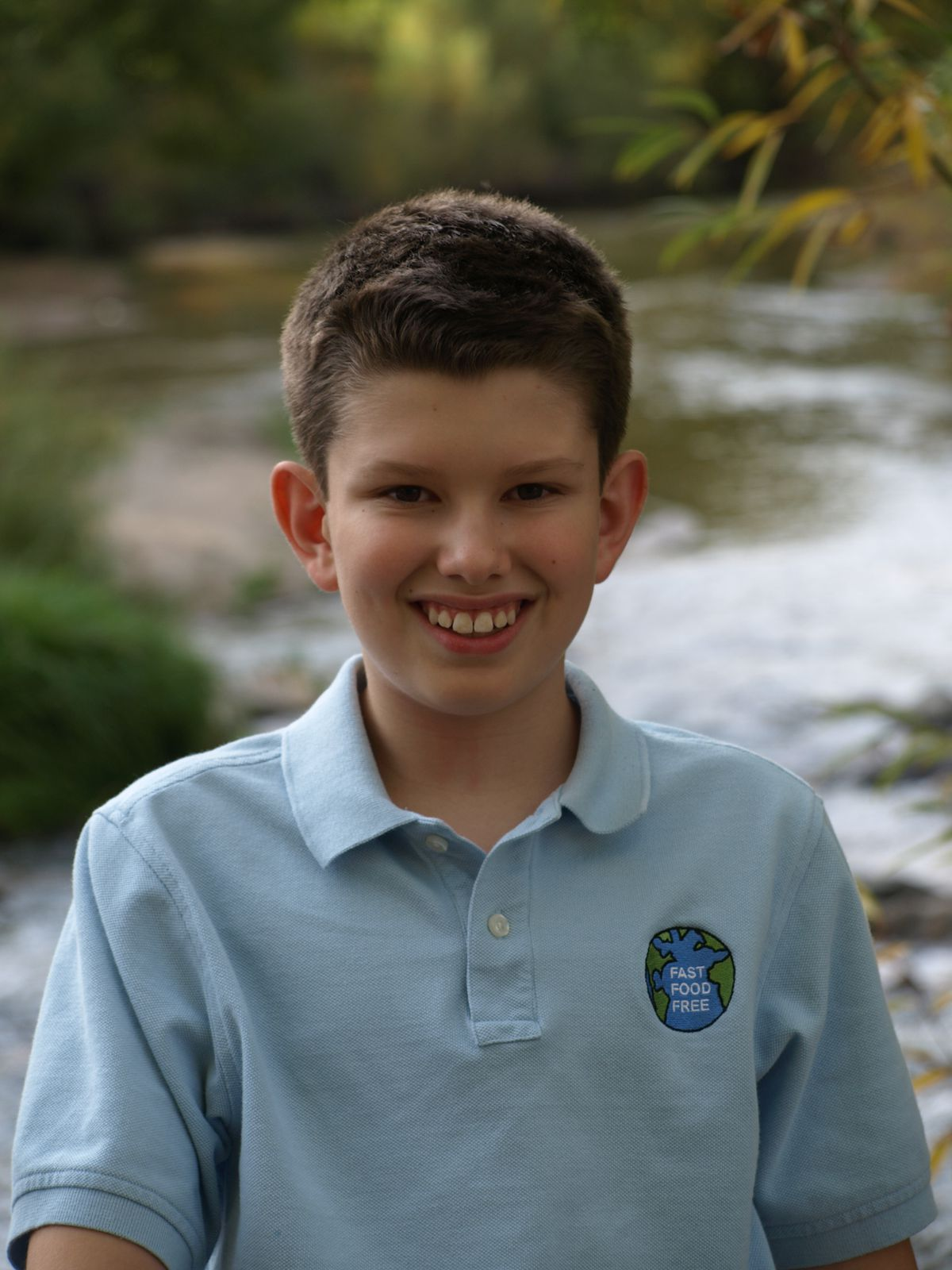 Koa Halpern, now 13, was just 10 when he launched his organization, Fast Food Free.