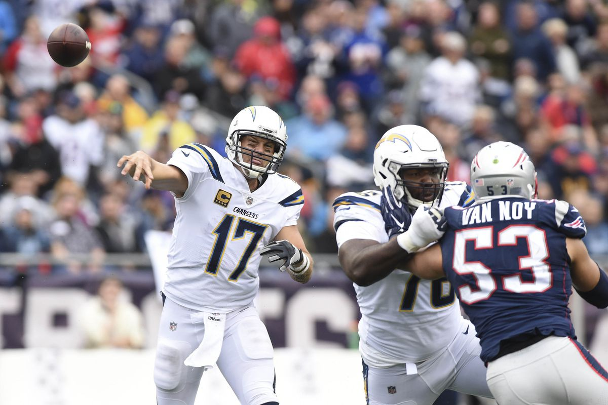 Chargers vs  Patriots playoff odds 2019: Betting lines and