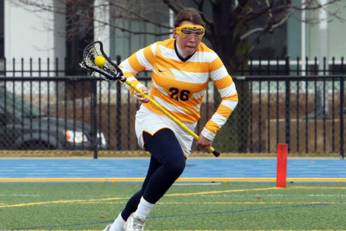 Riley Hill was dealing against the Hoyas, recording seven points on the day.