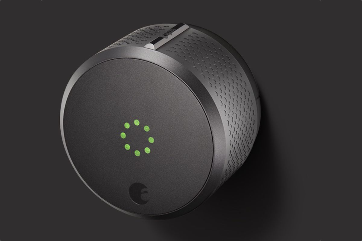 August S New Smart Lock Fits Into Your Z Wave Smart Home