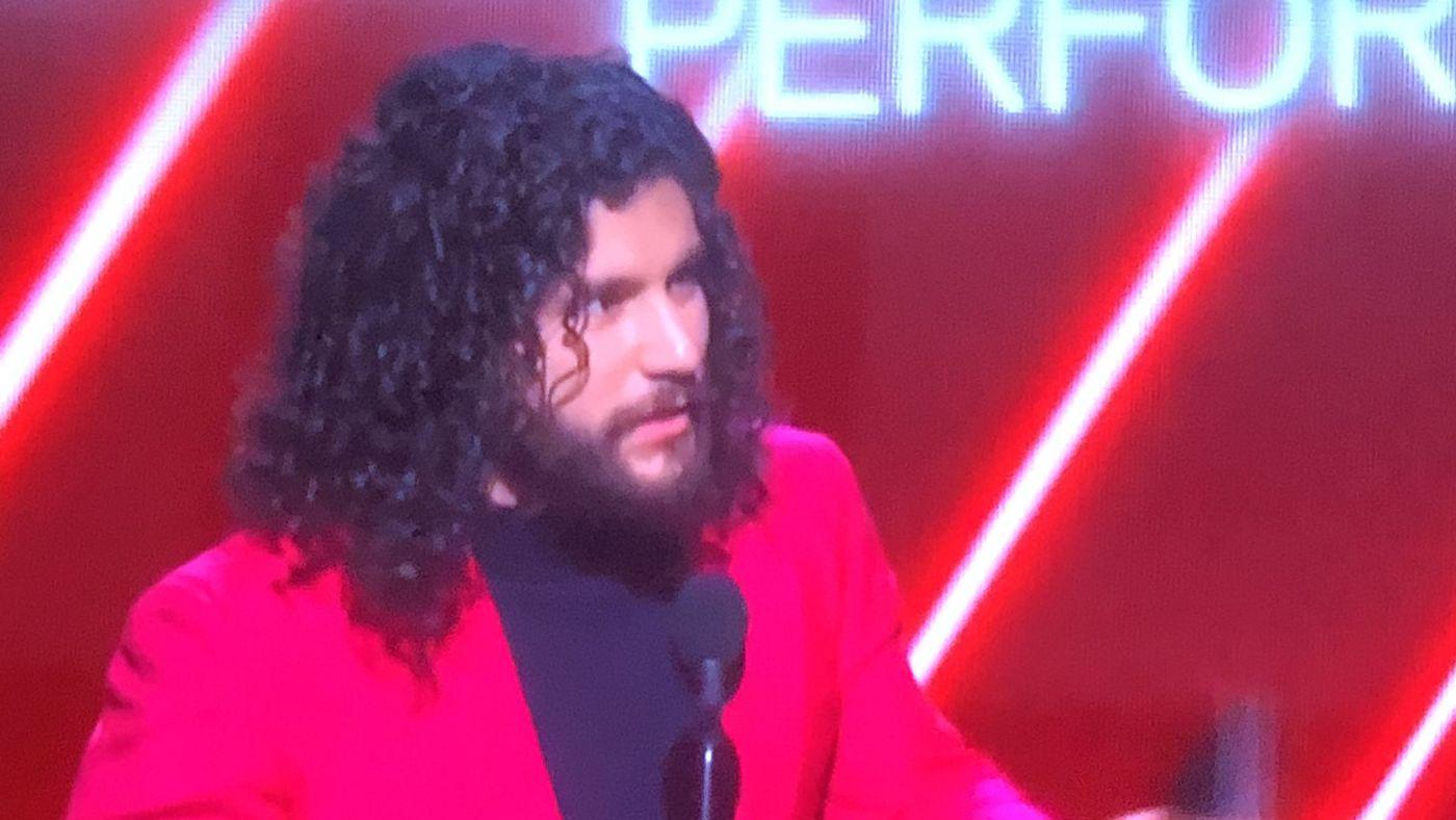 Pic: Jorge Masvidal wins Grammy award, teases second album 'Don't Be A Beta'