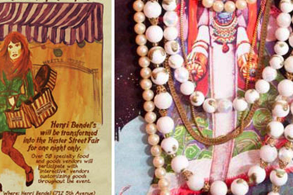 "Necklace at right via <a href=""http://corvusnoir.com/"">Corvus Noir</a>"