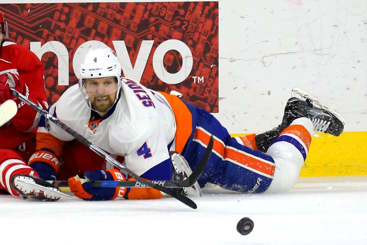 NHL: New York Islanders at Carolina Hurricanes