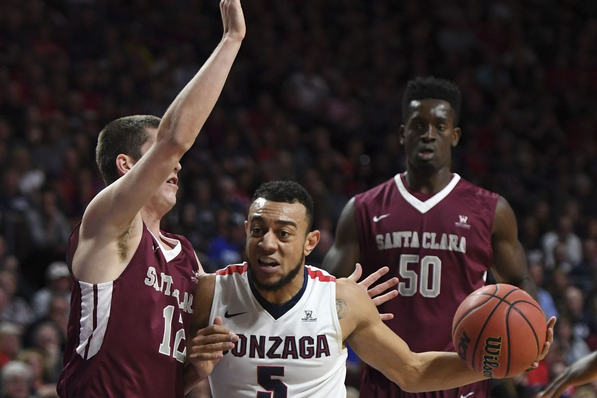 NCAA Basketball: West Coast Conference Tournament-Gonzaga vs Santa Clara