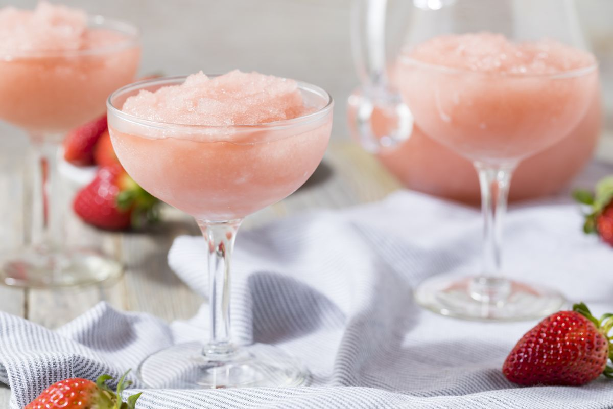 Pictured are frozen wine drinks, one of the specialties from the upcoming Capitol Hill bar, La Dive.