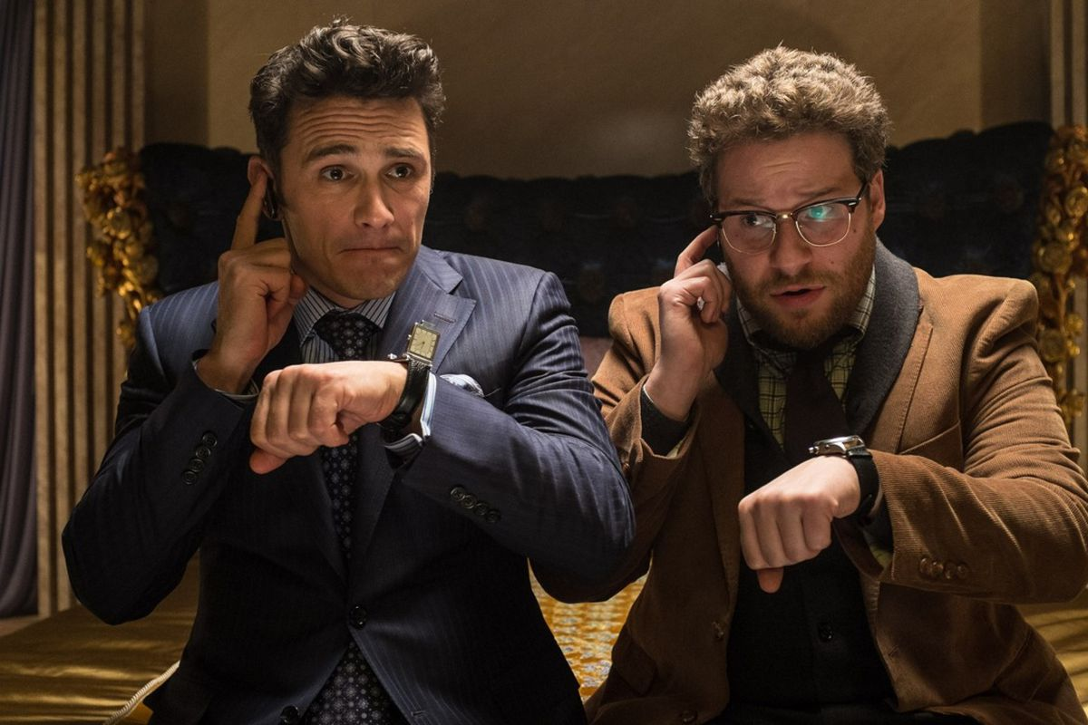 The Interview Wants To Be A Brutal Satire Of North Korea And The