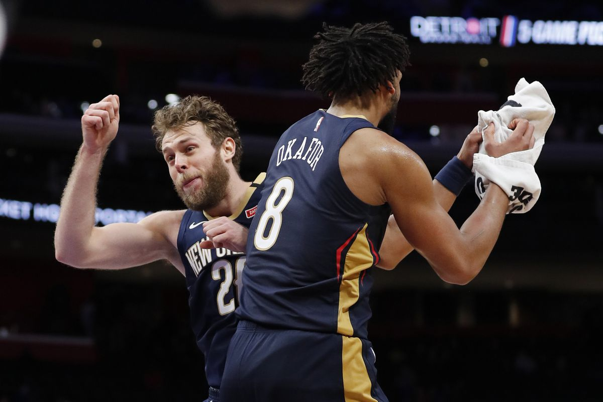 New Orleans Pelicans Ride Jahlil Okafor Early Lonzo Ball