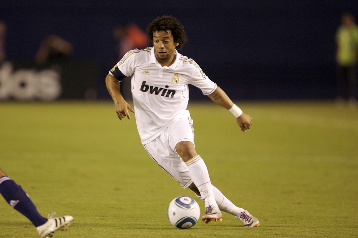 Marcelo, from Real Madrid.