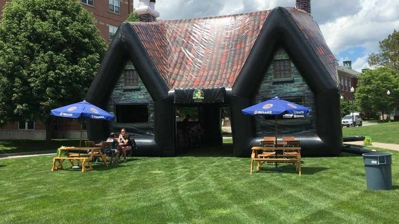 You Can Now Rent An Inflatable Irish Pub And I Am So Down