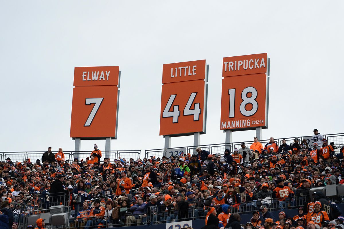 ae760e3d396 Denver Broncos rookies have their jersey numbers - Mile High Report