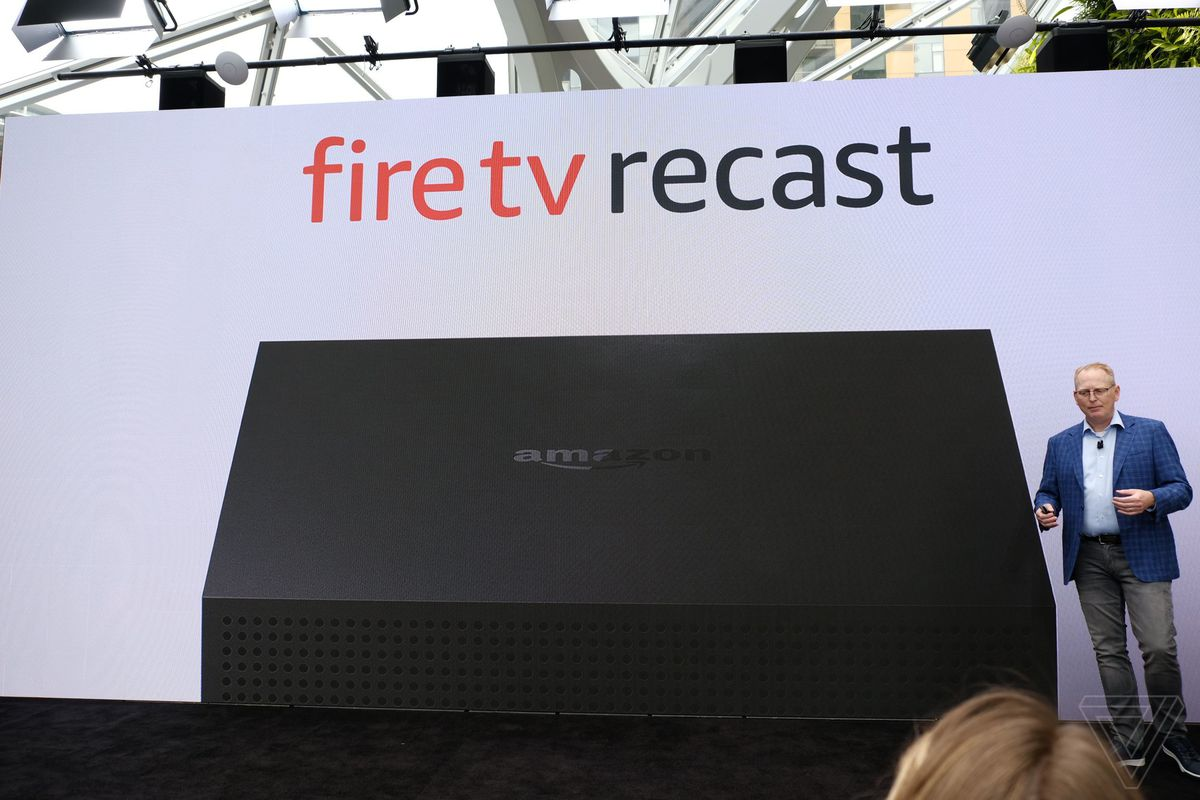 Amazon Fire TV Recast lets you send live TV streams to your