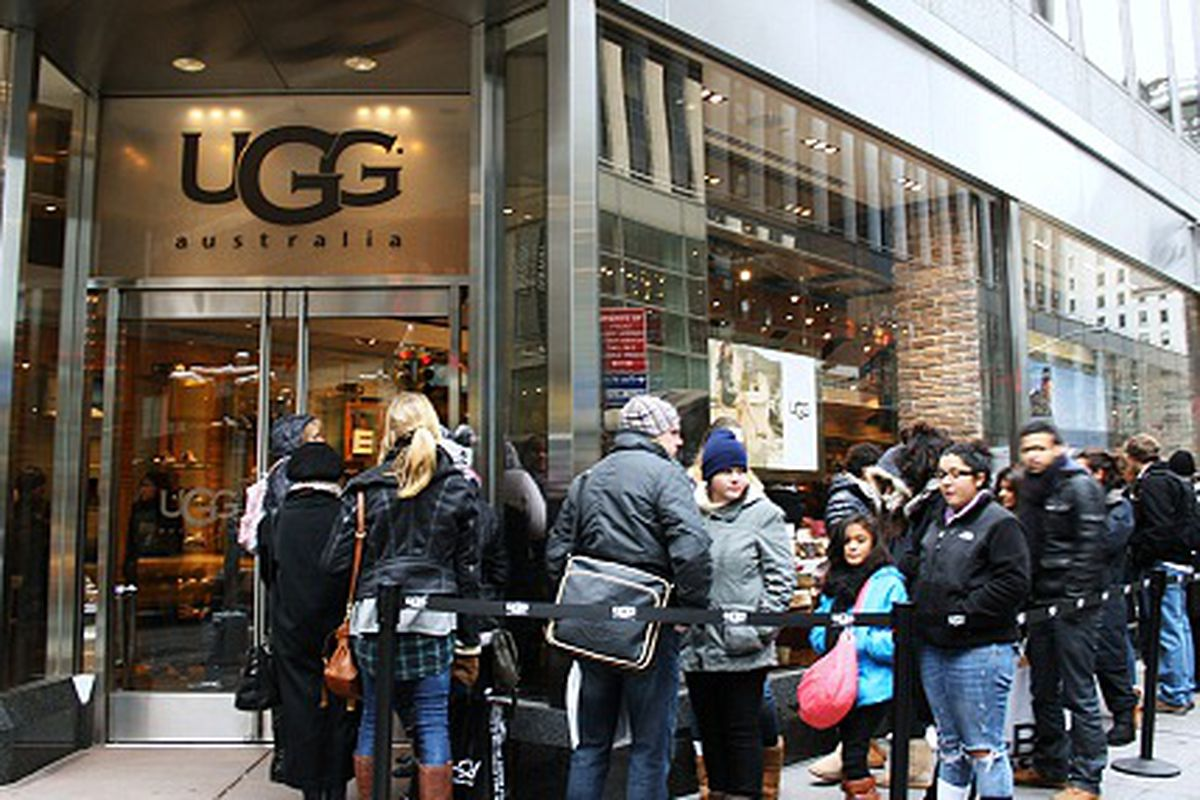 ugg store new york prices
