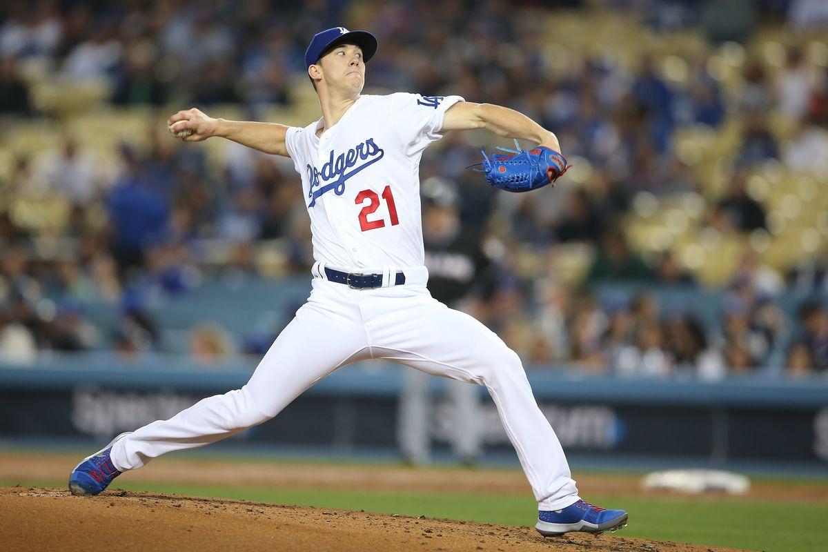MLB: APR 23 Marlins at Dodgers