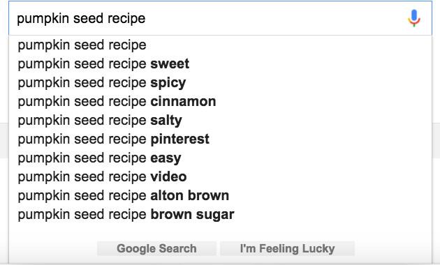 Pumpkin Seed Google