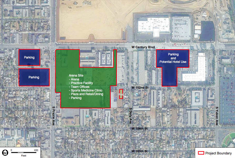 South Los Angeles development map - Curbed LA