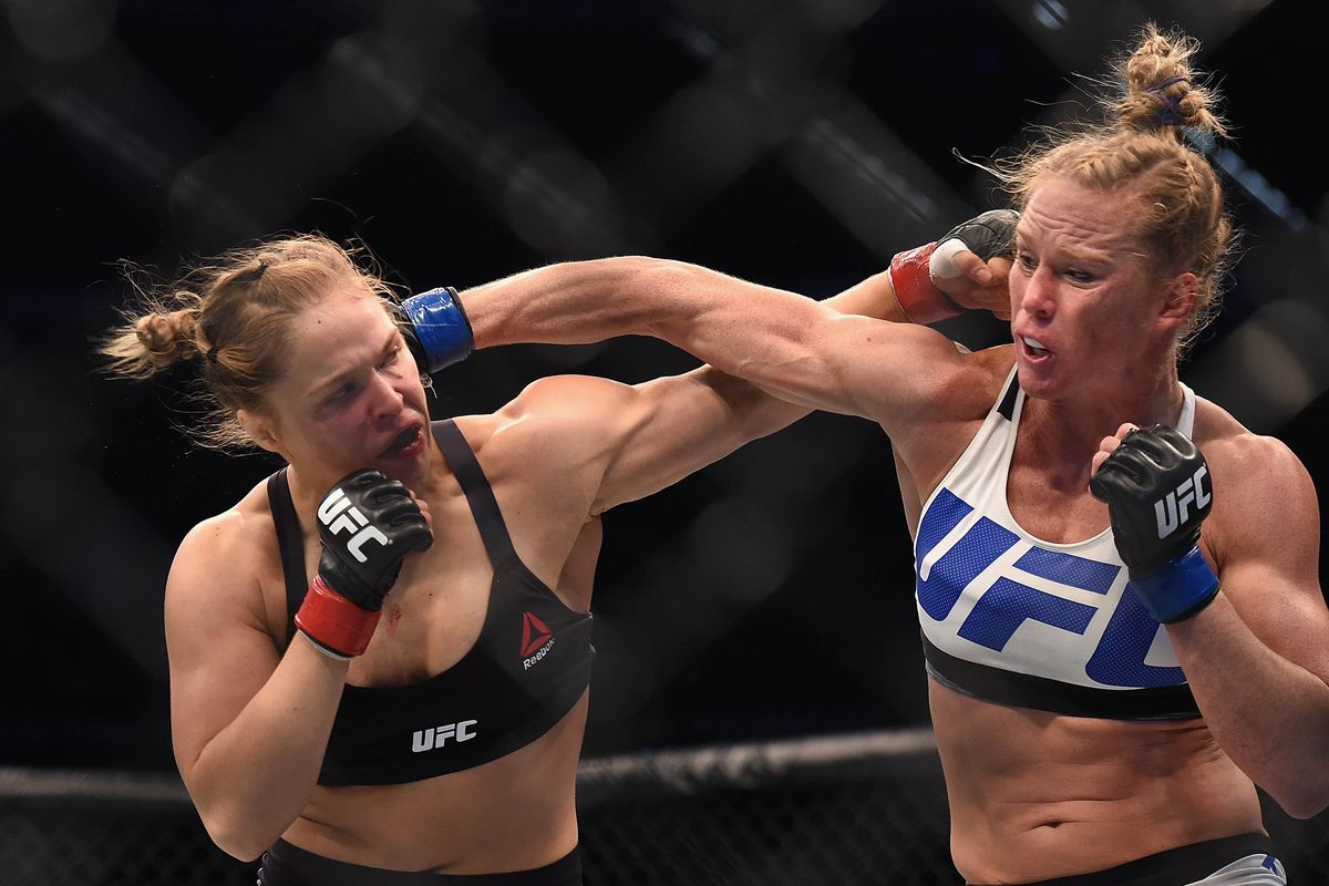 Ronda rousey vs holly holm betting lines in sports betting what is the line