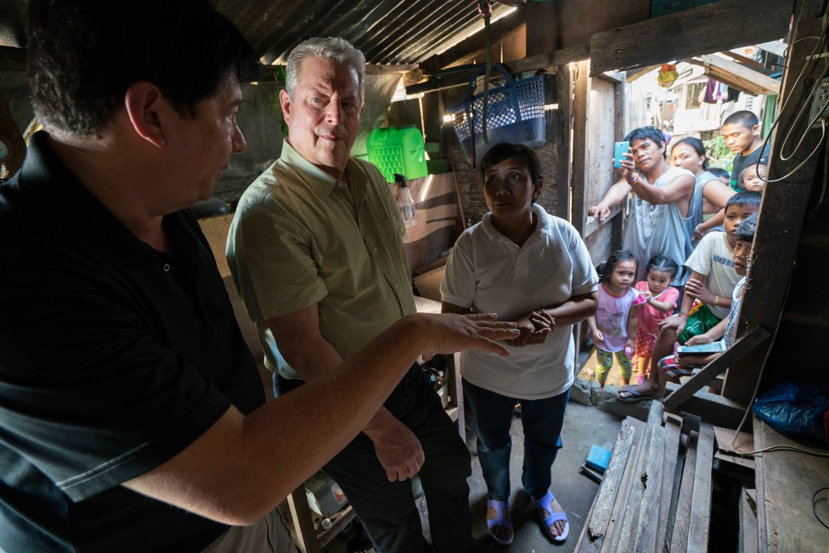 Al Gore appears inAn Inconvenient Sequel: Truth to Powerby Bonni Cohen and Jon Shenk, an official selection of the Documentary Premieres program at the 2017 Sundance Film Festival.