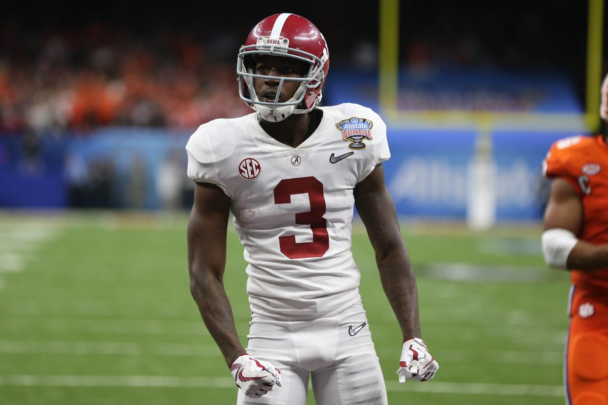 2018 Nfl Draft Profile Wr Calvin Ridley Fake Teams