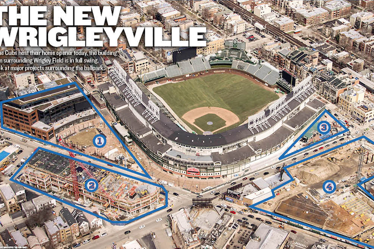 97204f3c8b The new Wrigleyville  4 big projects going up around Cubs  home ...