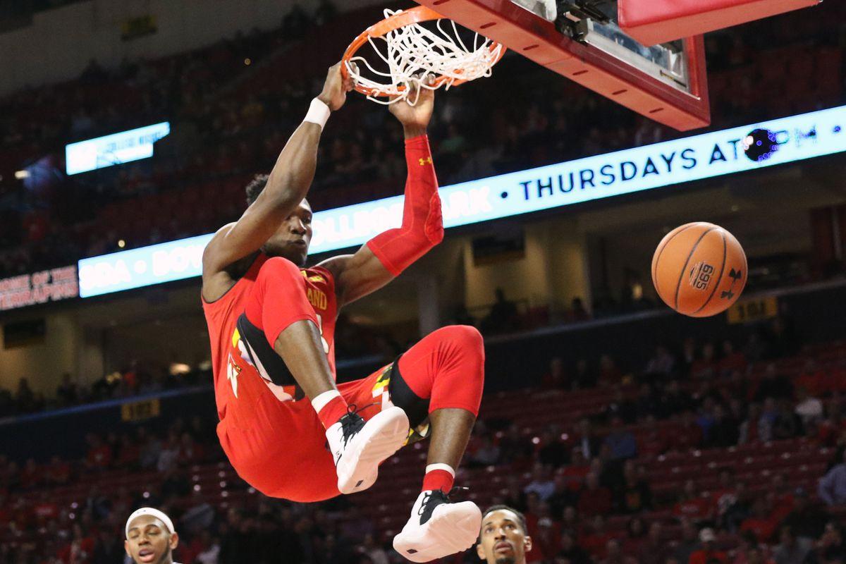 Maryland basketball Bruno Fernando vs. Northwestern